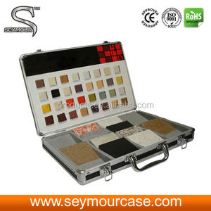 Small Stone Display Case Display Showcase For Ceramic Tiles
