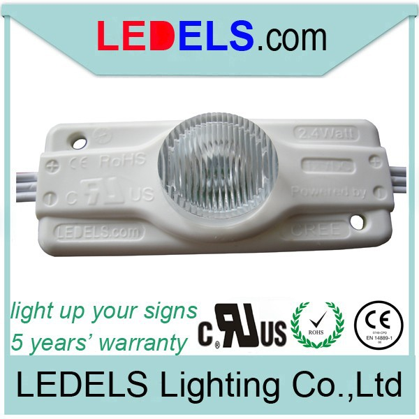 5630 led module with lens