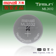 Ml2032 rechargeable battery