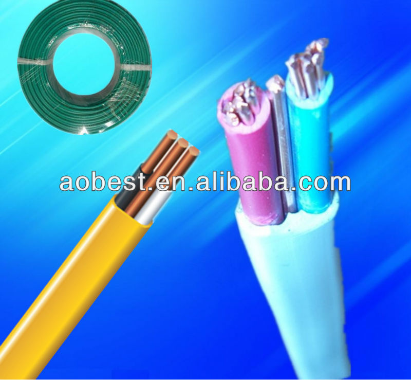 China high quality NMD wire twin and earth cable wire