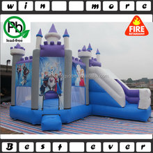 Frozen Jumping Castle ,Inflatable Game ,inflatable frozen combo with slide for commercial use