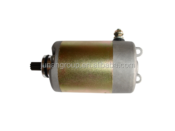 GY6 Electrical Motor GY6 250cc Chinese Moped Scooter Starter 9Tooth Motor Jonway YY250T