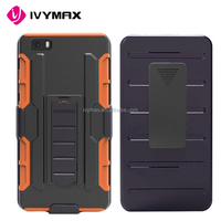 IVYMAX wholesales robot combo case with holster for HUAWEI P8 Lite phone accessories