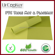 Promotional PP/PVC Placemat Table Mat With Good Quality