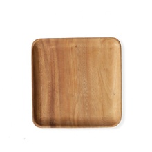 High quality square acacia wood serving <strong>plates</strong> and platters