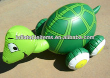 cute PVC inflatable turtle toy