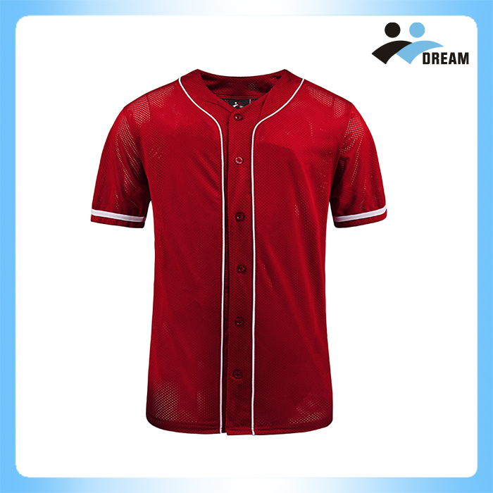 DREAM SPORT Breathable stylish China hot sale cheap custom baseball jersey on sale