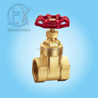 Brass High Pressure Rising Stem Gate Valves