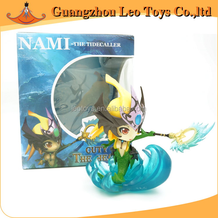 Popular Games Characters PVC Toys Nami Action LOL Figure
