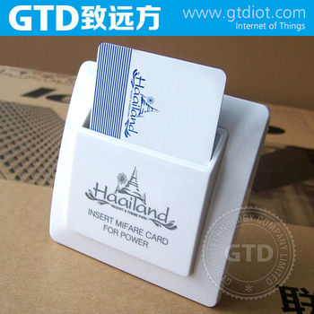 Hotel Card Key Switch, Customized Different Colors & Logo, Welcome OEM