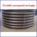 storm sewers,stream enclosures or bridges and bridge replancements corrugated steel pipe