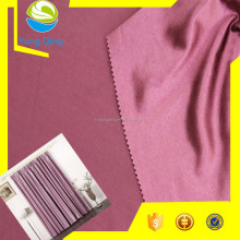 Blackout polyester fabric for curtain fabric name