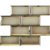 YQ1028 3x6 inch glass stocklot subway tile,glass subway mosaic tile