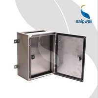 Saipwell CE Certificated Electronic Enclosures Metal IP66 Waterproof Outdoor Custom Electrical Box Enclosures