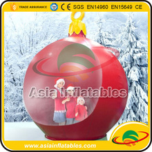 Outdoor Inflatable Christmas Snow Globe , Snow Globe Custom Made