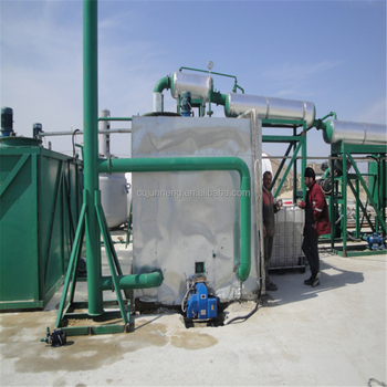 used oil recycling machine