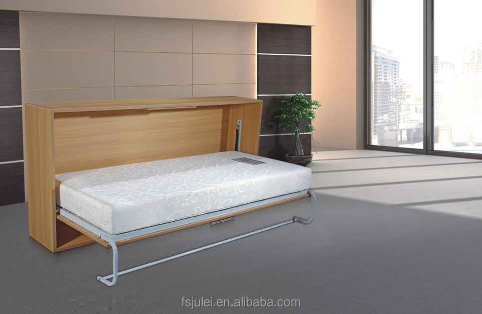 Hot Sale and High Quality White Color Queen Size Hidden Murphy Bed