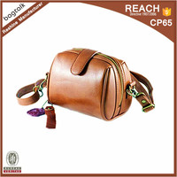 CM0404 Hot Sales Leather Camera Case Bag with leather strap