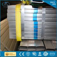 galvanized metal tube/pre galvanised hollow tube/construction square tube