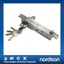 Biometric Keyless Drop Door Changing Mortise Bolt Lock Electric