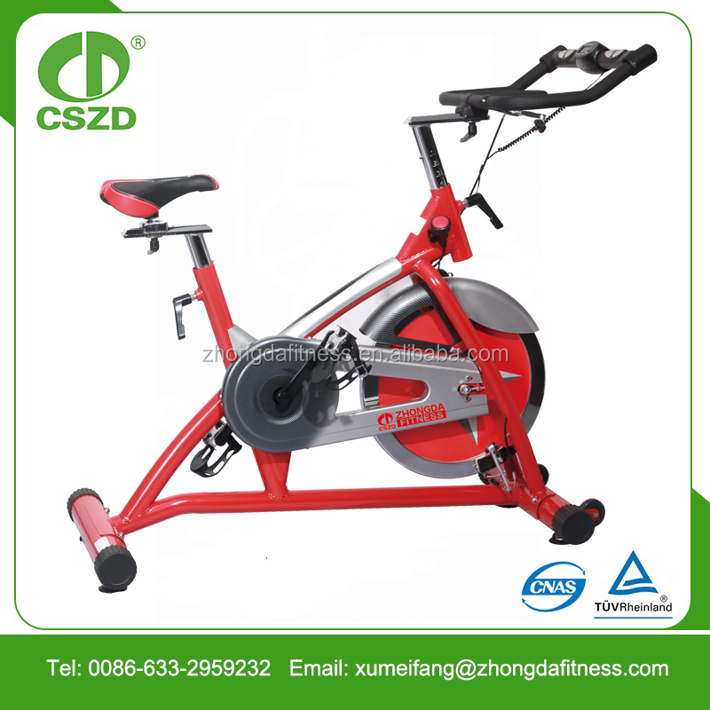 Low price gym master fitness spinning bike commercial