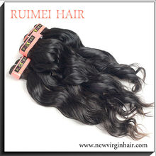 Hot selling virgin unprocessed brazilian fake hair