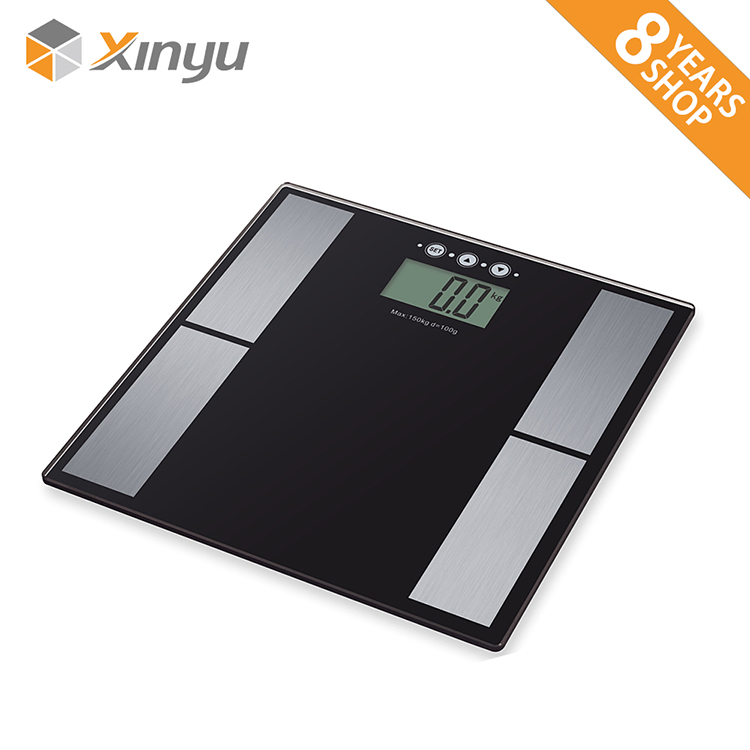IR wireless body fat analyzer scale/fat/water/bone/muscle