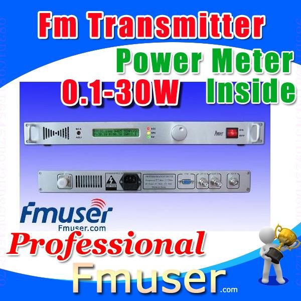 17FSN fm transmitter 30w broadcast qualitywireless cofdm transmitter FMUSER Lanyue