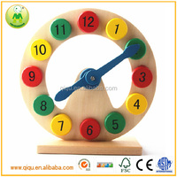 Hot Selling Children Toys Number Clock Wholesale Educational Toy