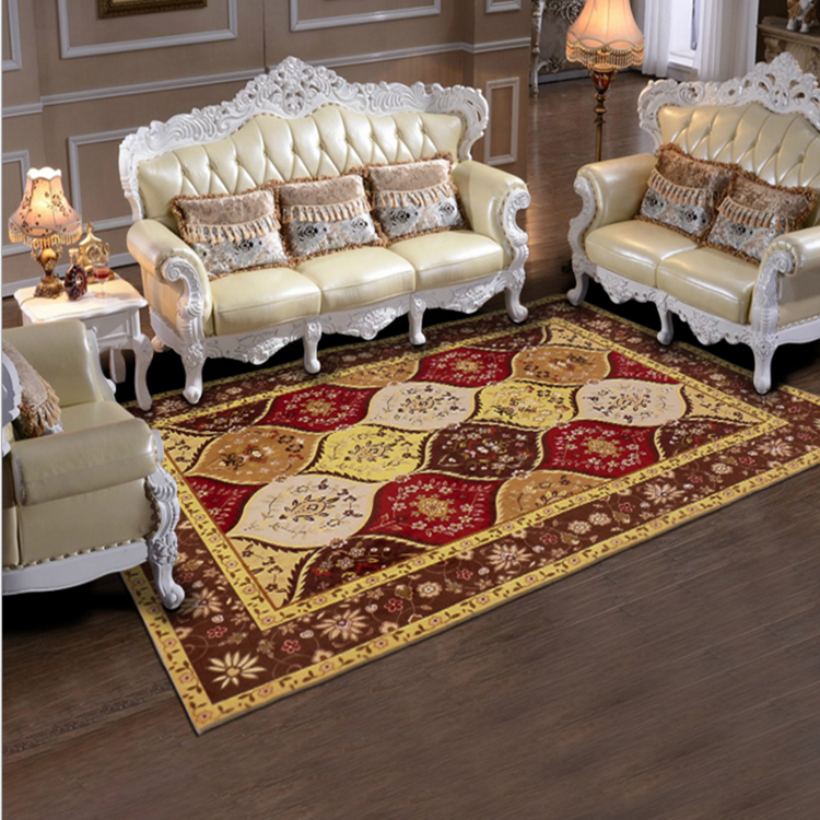 Super soft short plush washable printed Carpet and Rug factory,muslim carpet LYPC025