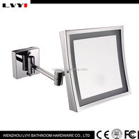 Hot promotion all kinds of silver mirror make up mirror with many colors