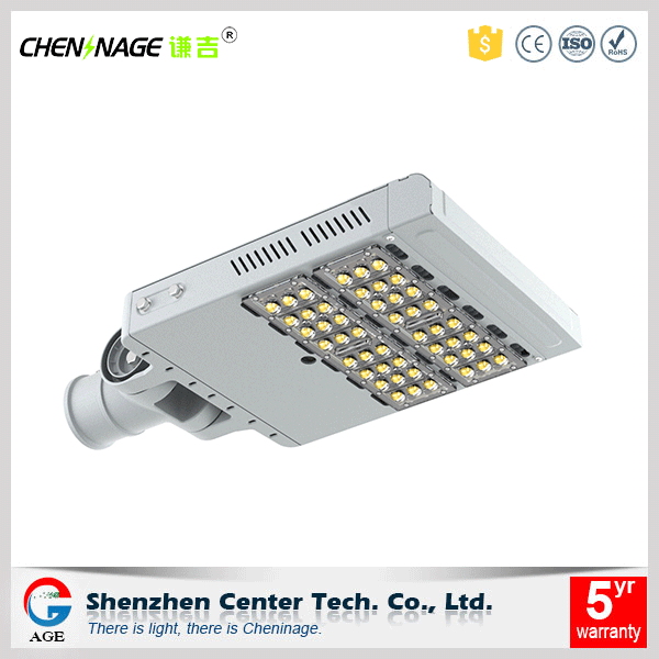 Long working time IP67 waterproof outdoor led lights CE RoHS 120w led street light