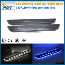 Car Styling Welcome pedal For K5 White LED Car Styling Welcome pedal light
