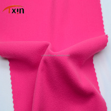 polyester knitted gold velvet brushed fabric for warm wear