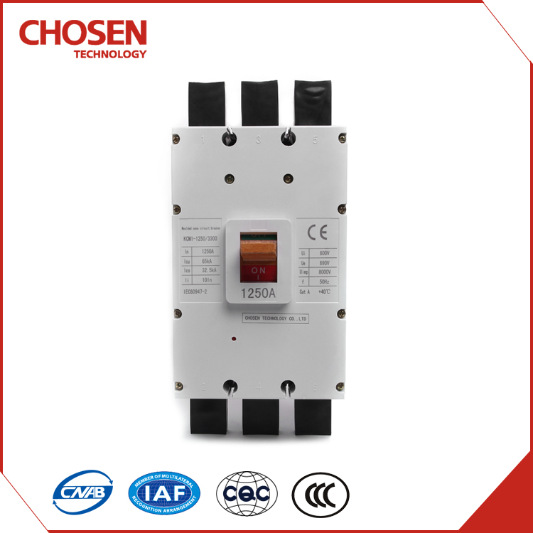 Low voltage electrical appliances,high segmentation ability,1250a circuit breaker
