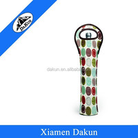 Fashion design wine carrier, neoprene wine carrier, wine bottle carrier DK14-1430/Dakun