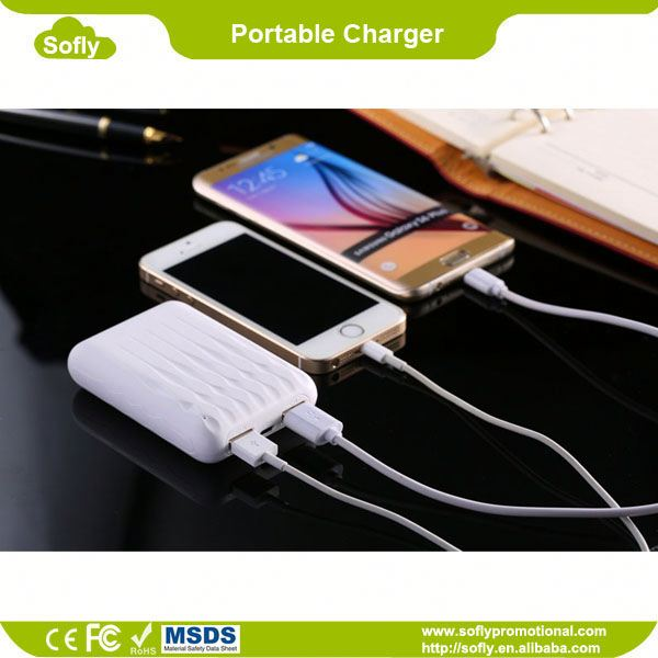 6600mah Portable Cell Battery, Top Rated Power Banks, Phone Charger Battery Powered