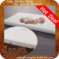 Healthy care natural coir fibre baby latex mattress