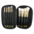 Luxury brushes black bag makeup brushes white hair Sixplus makeup brushes white hair makeup brushes white hair