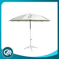 Best selling windstorm printed plain white advertising umbrella