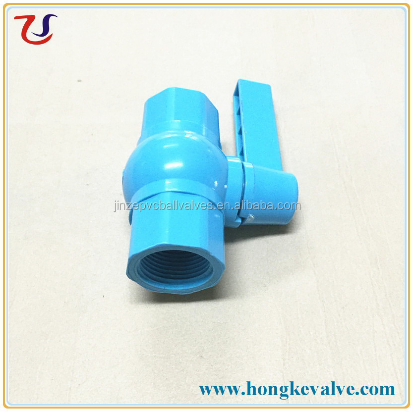 small size sanitary plastic southeast asia hand lever operated ball valve