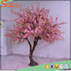 large silk outdoor plastic artificial cherry blossom tree fake flower tree for decoration