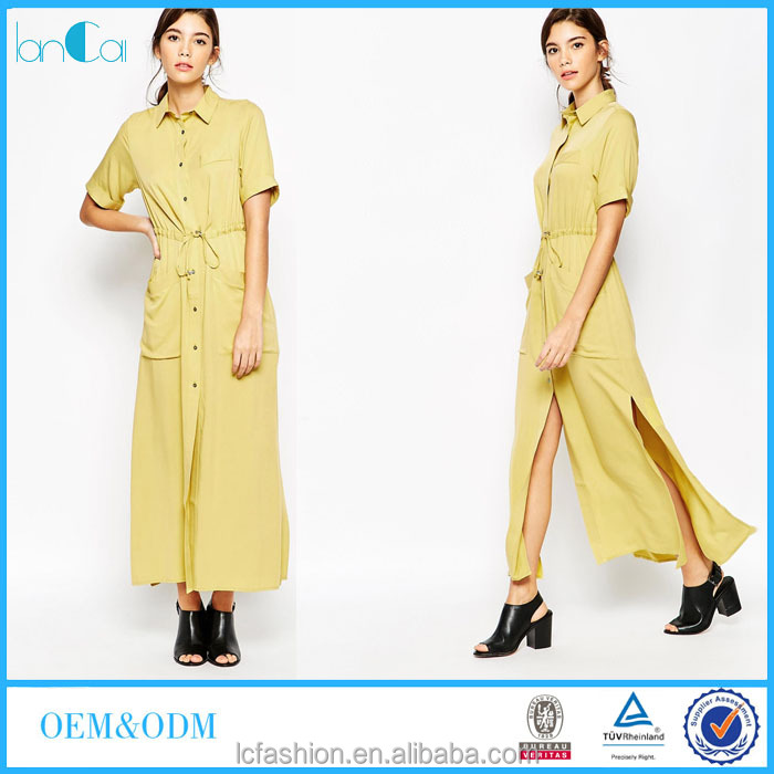 shirt dresses 2016 for girl fashionable autumn clothing