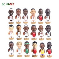 PVC NBA basketball player bubble head sports player head shaking doll