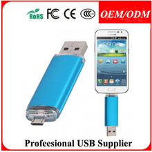 For Android Smart Phone 2-in-1 Micro USB U-Disk OTG USB Flash Drive 8GB 16 GB 32 GB 64 GB pen drive1GB 2GB