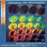 Manufacturer Security Custom Made Hologram Stickers
