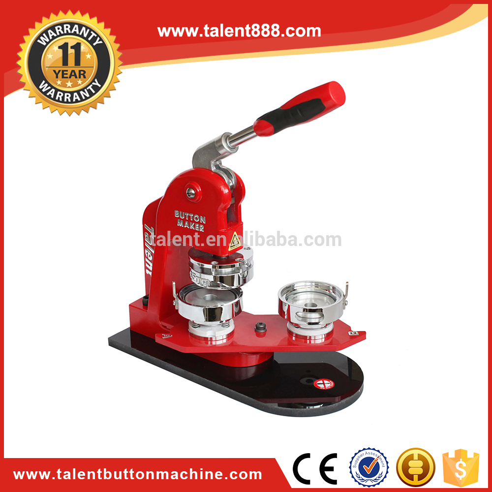 China Wholesale Custom 65mm (2 3/5), 75mm (3) Id Badge Machine Badge Machine For Pin Making