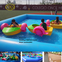 Factory Supply Lowest Price Fwulong Brand Kids Boats Small Plastic Toy Handle Boats For Water Play Games