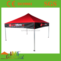 advertising tent metal pop up tent;folding canopy shelter house