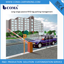 Long range RFID tag automatic car parking system